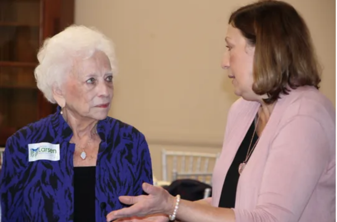Former US Treasurer Mary Ellen Withrow and former Secretary of State Judge Jennifer Brunner